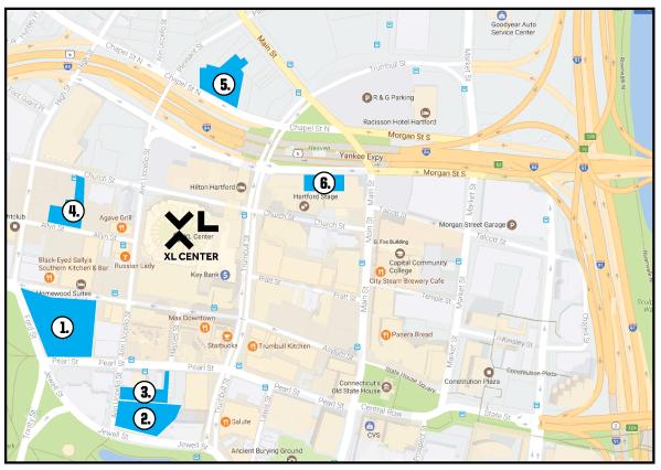 Parking directions xl center lazparkingg sciox Images