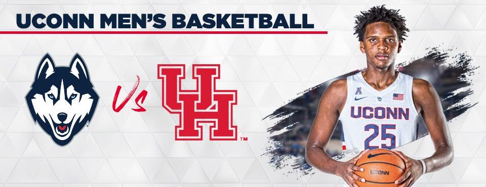 low priced 4aa04 95348 UConn Men's Basketball vs. Houston   XL CENTER