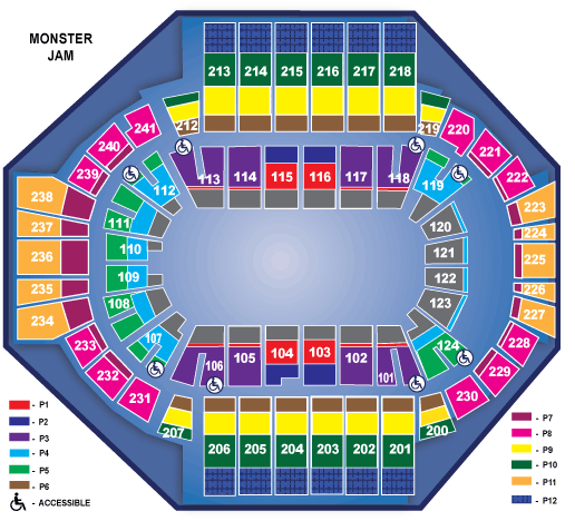 Xl Center Seating Chart With Row Numbers Brokeasshome Com